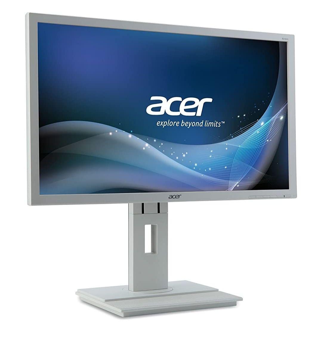 "Monitor Acer B246HL wmdr . (61 cm/24"", DVI, VGA, 1920 x 1080"