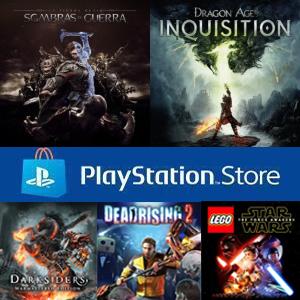 PS4 :: 5 Juegos +75% descuento (Dragon Age, Darksiders Warmastered Edition, Lego Star Wars y Tierra Media)