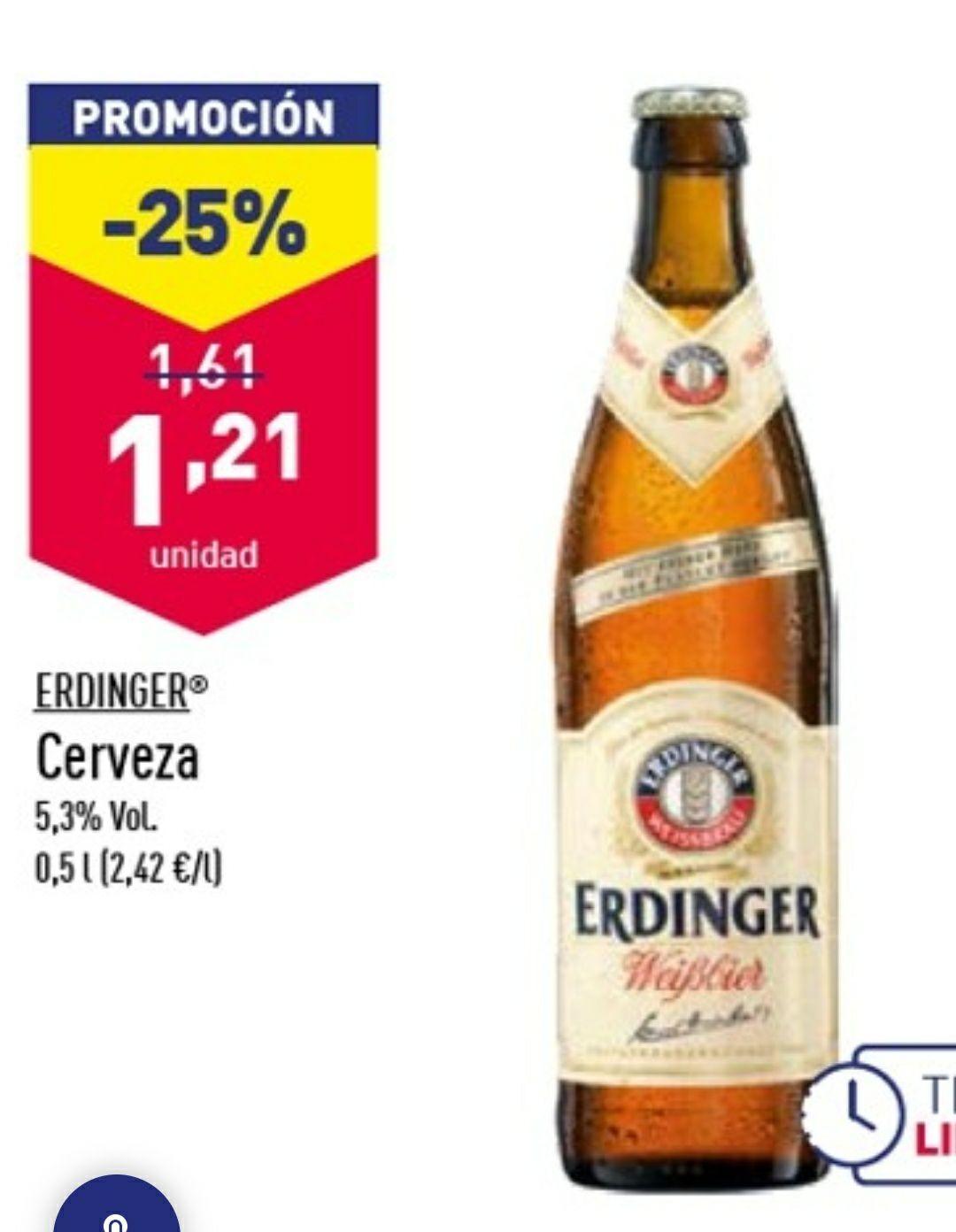 CERVEZA ERDINGER 50CL 5,3%