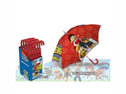 Kids Paw Patrol Paraguas Clásico, 57 cm, Rojo y otro modelo por 5,49