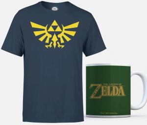 Pack de Camiseta + Taza de Zelda