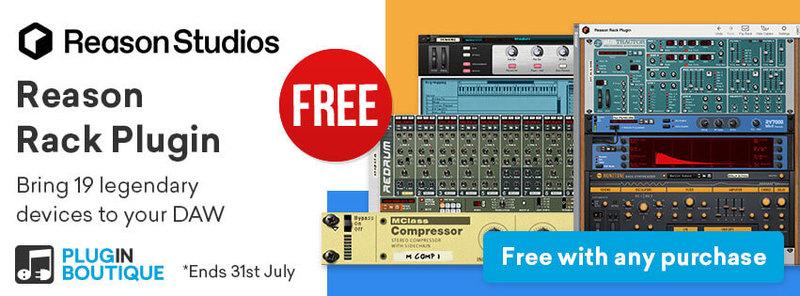 Plugin VST Reason Rack Lite por solo €4.40! musica sintetizador drum machine