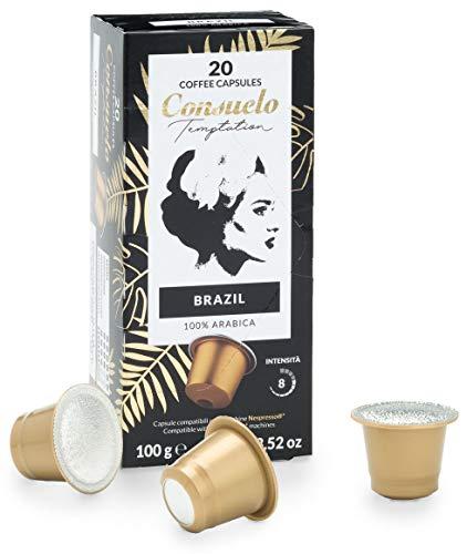Pack 100caps Nespresso Café Consuelo Brasil