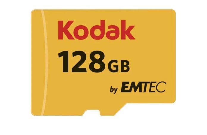 Tarjeta de Memoria Micro SDXC Premium Kodak 128 GB