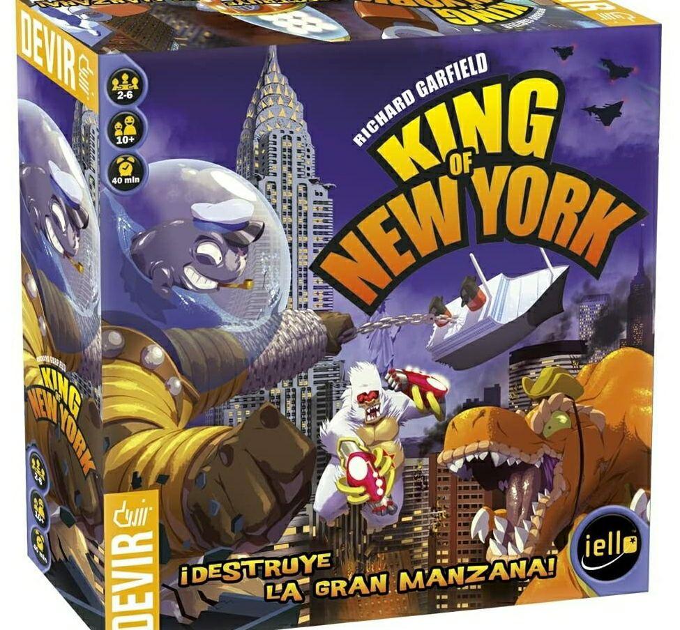 King of New York - Devir (Juego de mesa) [envío en 1 o 2 meses]