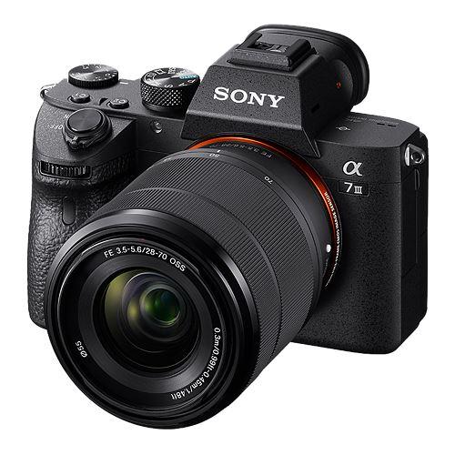 Cámara EVIL Sony A7 III + 28-70 mm