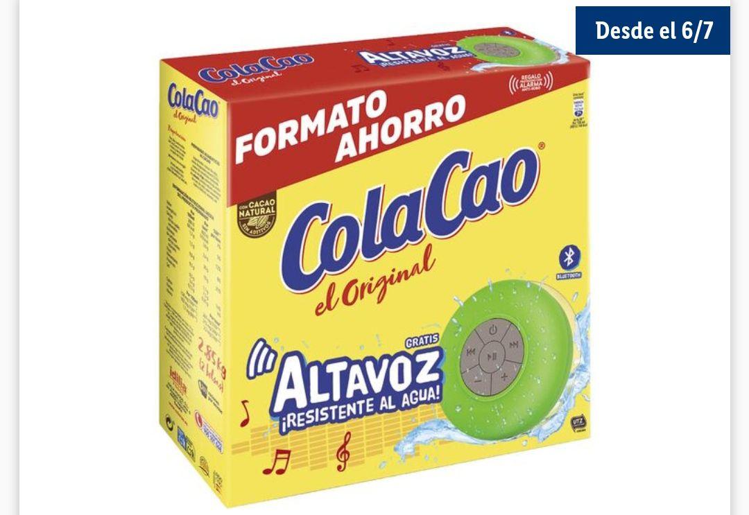 ColaCao OriginalCacao Natural-2.85kg+ Altavoz Bluetooth resistente al agua desde el 6 de julio