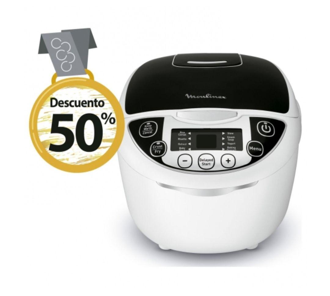 Robot de Cocina Multicooker Moulinex MK7088 ( Descuento al tramitar)