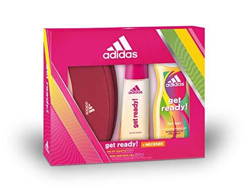 Set de Adidas: neceser, bodygel y colonia (4'70 compra recurrente)