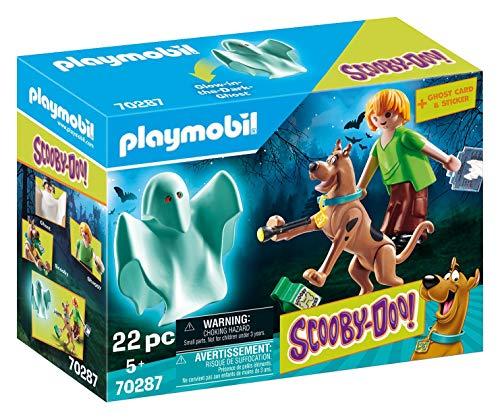 PLAYMOBIL-Scooby-Doo, Scooby & Shaggy con Fantasma