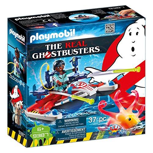 PLAYMOBIL Ghostbusters Zeddemore con Moto de Agua, Flota,