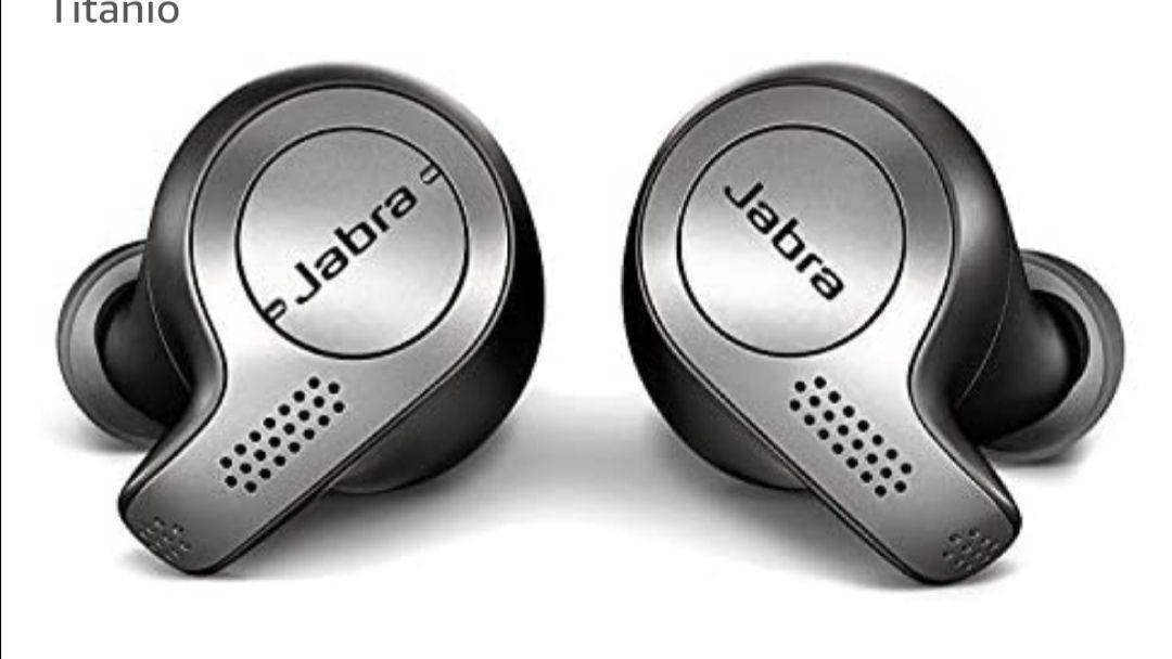 Jabra Elite 65t – Auriculares Bluetooth con Cancelación Pasiva del Ruido