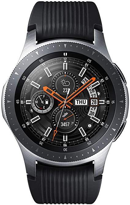 Samsung Galaxy Watch - Reloj Inteligente, Bluetooth, Plata, 46 mm