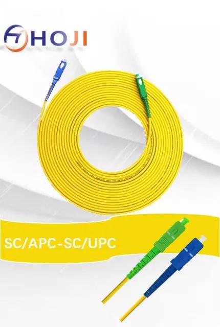2 cables de fibra optica de 30 metros por 9,09€