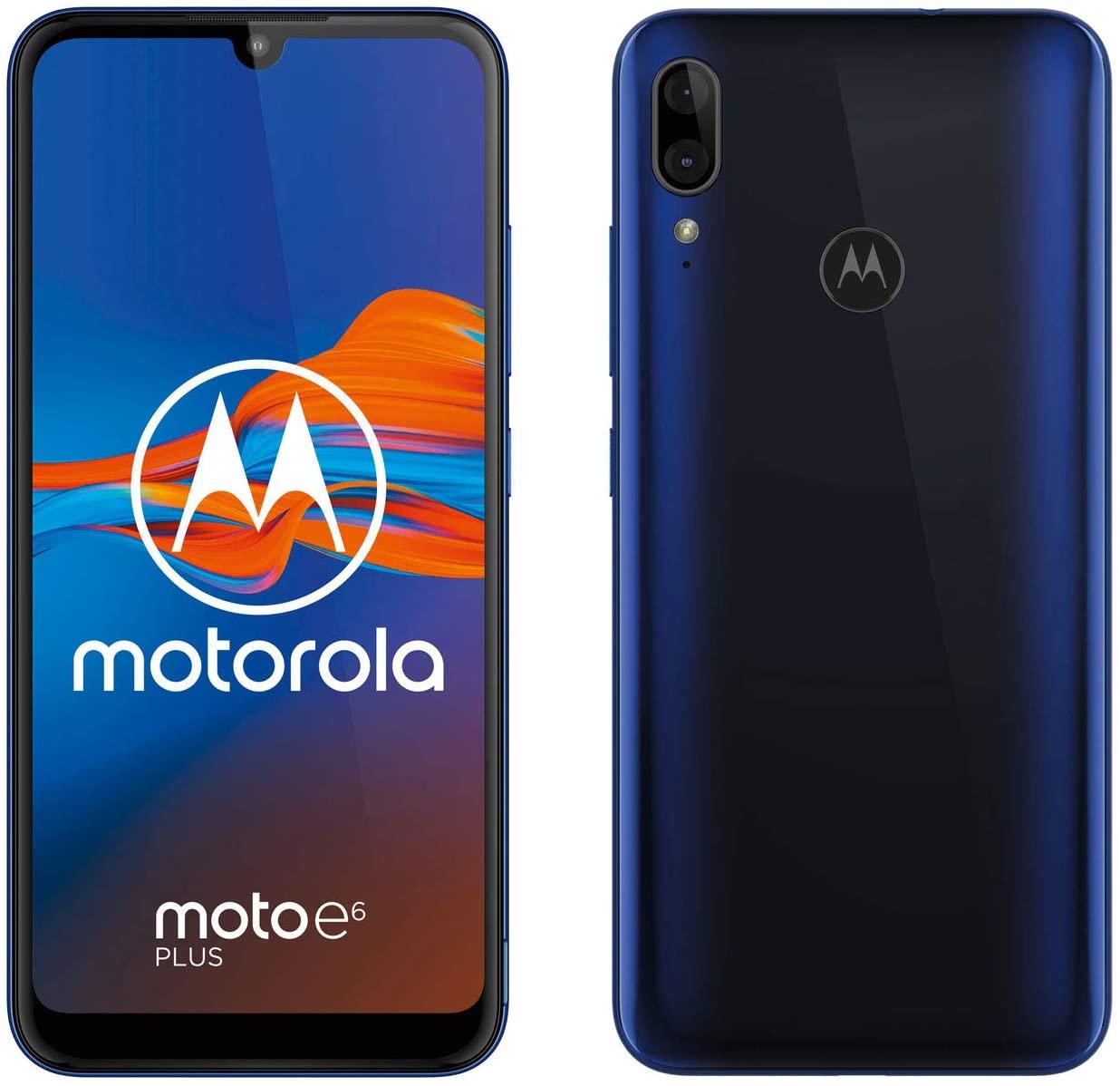 "Motorola Moto E6 Plus (6,1"", Android 9.0, Dual SIM) Azul + funda"