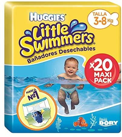 Huggies Little Swimmers Pañal Bañador Desechable Talla 2-3 (3-8 Kg) - 20 unidades (precio al tramitar)