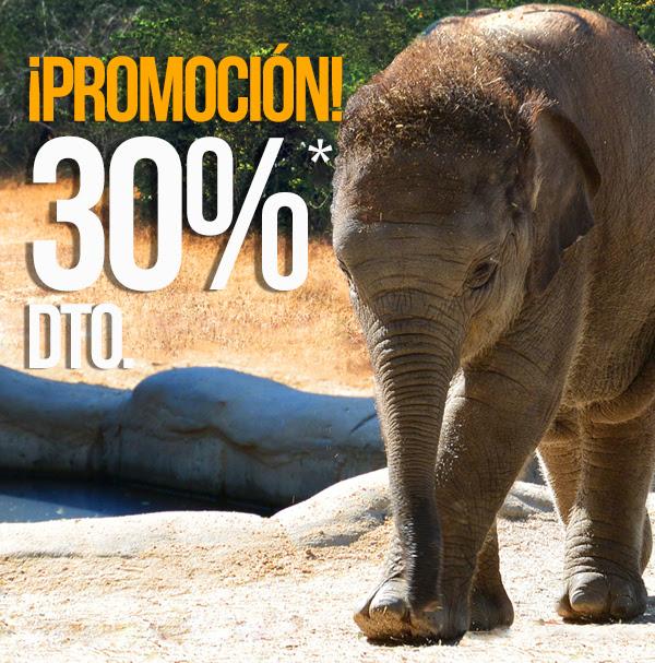 Descuento 30% Zoo de Madrid