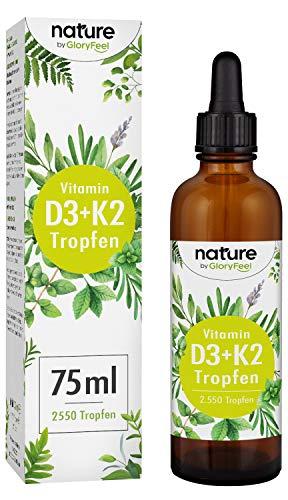 Vitamina D3+K2 en Gotas