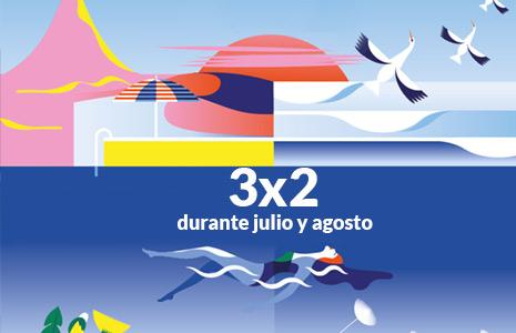 3x2 en Paradores