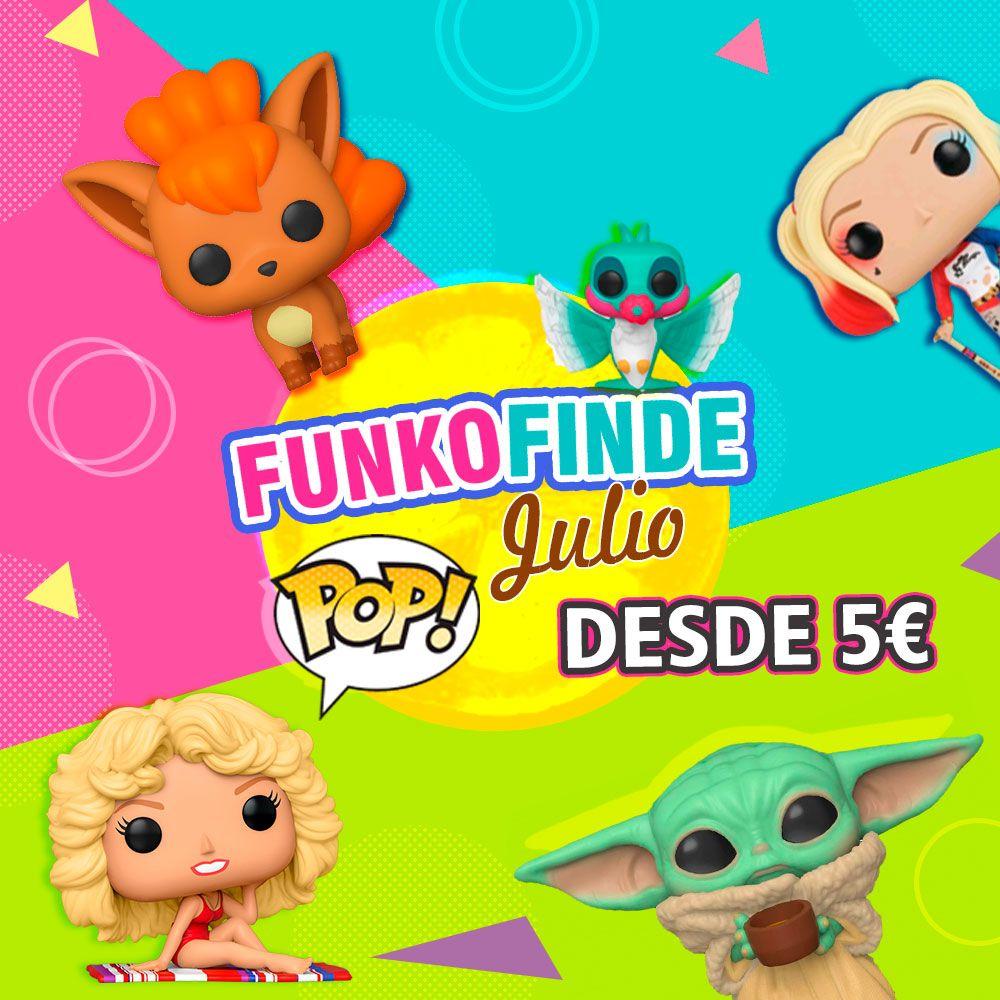 Funko Finde Julio Frikimon - Figuras Funko desde 5€