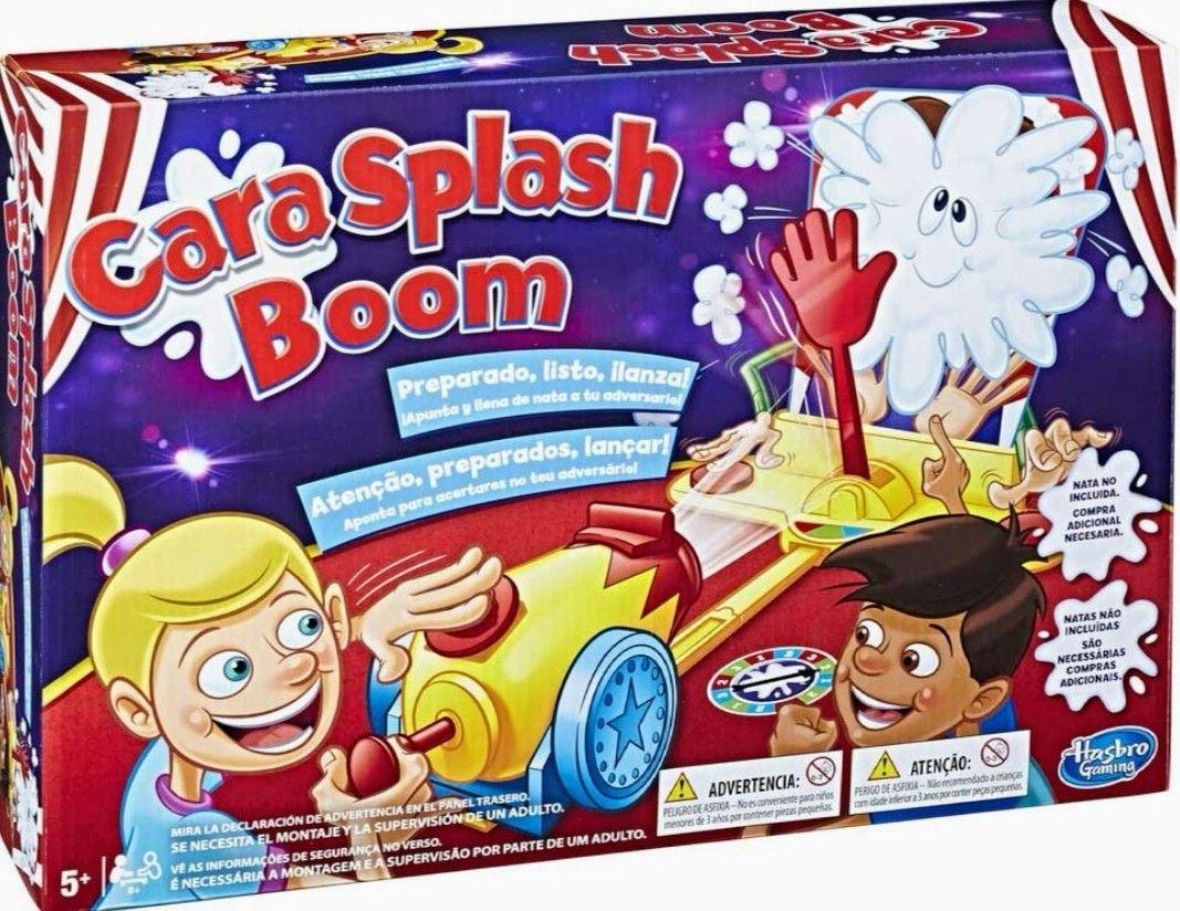 Hasbro Gaming - Juego infantil Cara Splash Boom (precio mínimo)