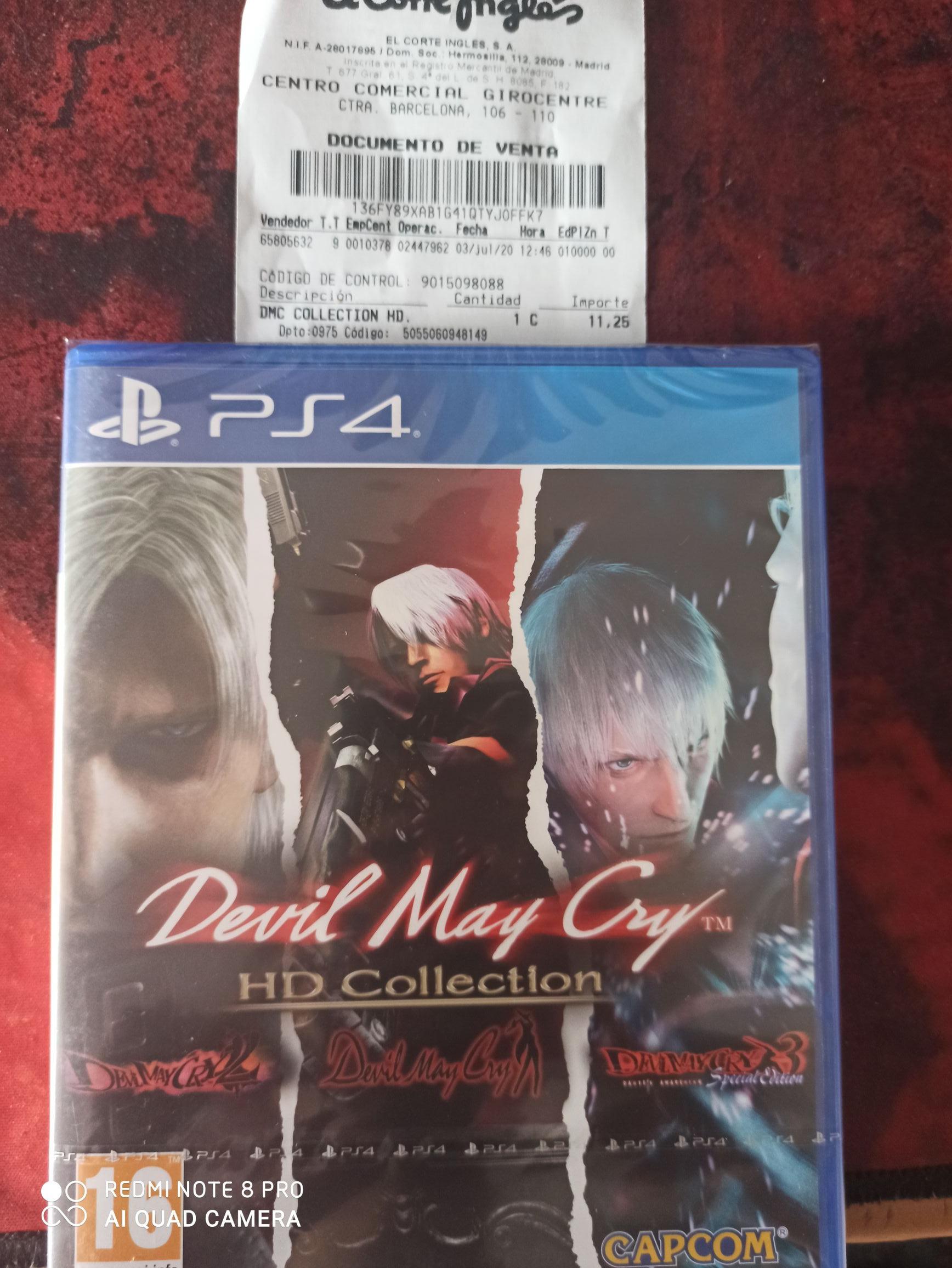 Devil may cry hd collection hd ps4 Liquidación El Corte Inglés