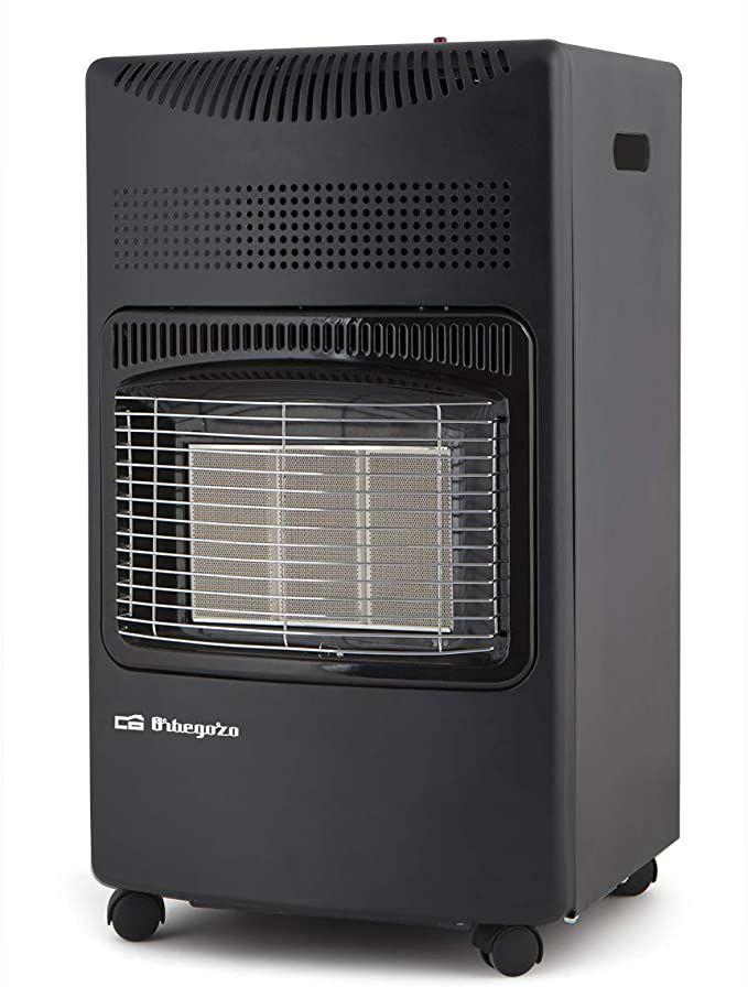 Orbegozo HCE 73 - Estufa de gas butano, cerámica, 4200 W, 3 niveles de potencia[Clase de eficiencia energética A