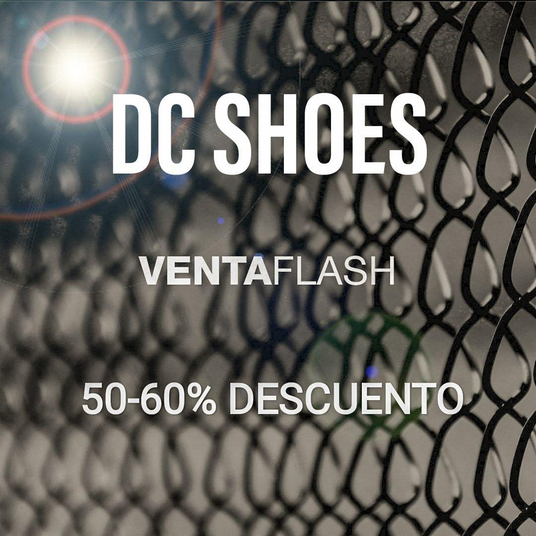DC Shoes - 50-60% DESCUENTO - Venta Flash