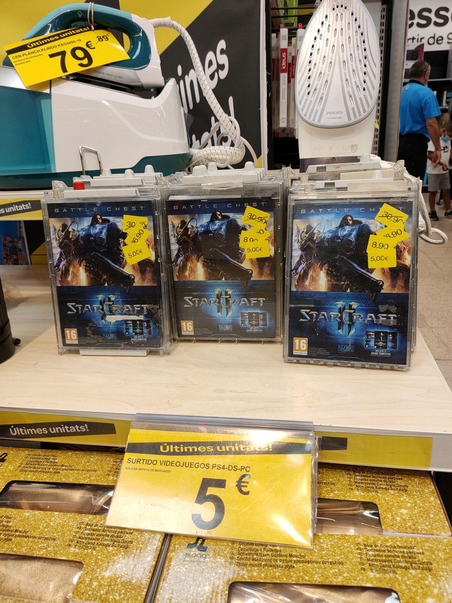 Starcraft 2, con todos los DLCs a 5€