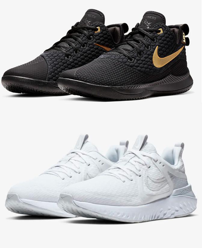 Nike Lebron Witness III y Nike Legend React 2 por sólo 45,83€ ud. (Muchos números)