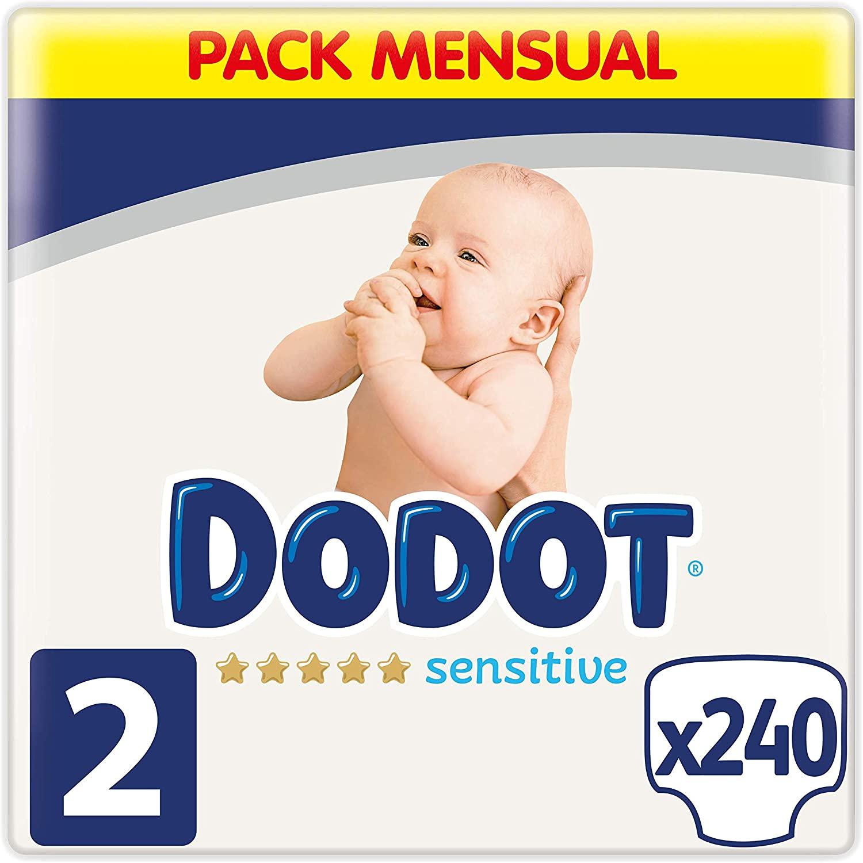 Dodot Sensitive 2 240 unidades solo 30€