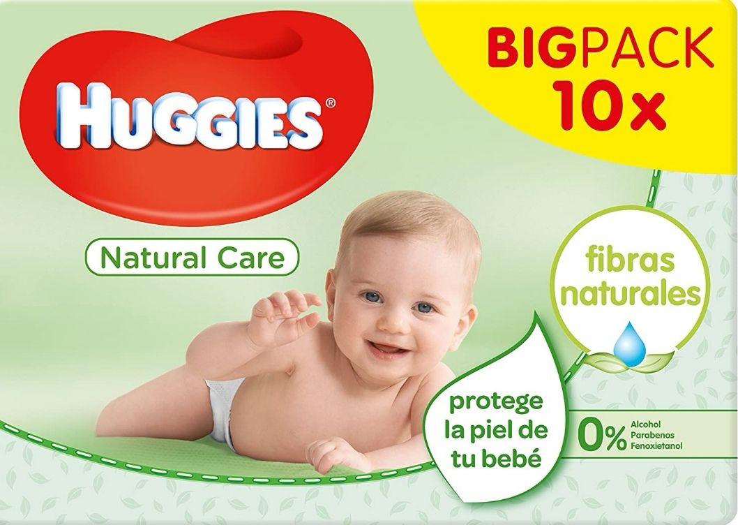Huggies Natural Care - Toallitas para bebé, 560 toallitas (Precio al tramitar)