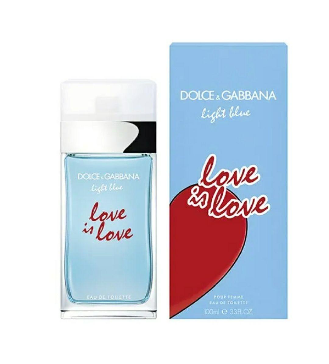 DOLCE & GABBANA Light Blue Love Is Love 50ML para mujer.