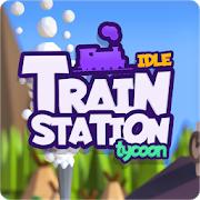 Idle Train Station Tycoon : Money Clicker Inc.