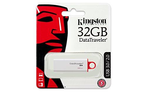 Pendrive Kingston DTIG4/32GB Data Traveler G4 - Memoria USB