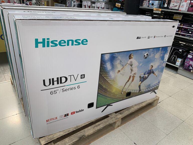 Hisense H65A6140 65″en outlet Carrefour Zaragoza