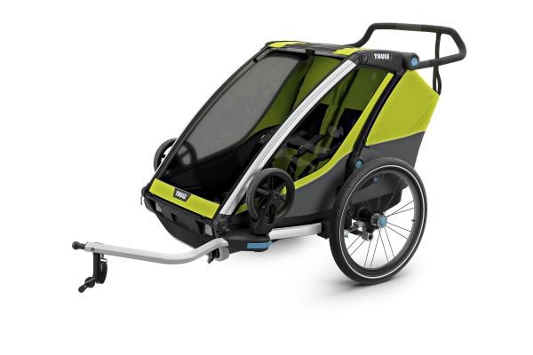 Remolque thule chariot cab 2 para niños