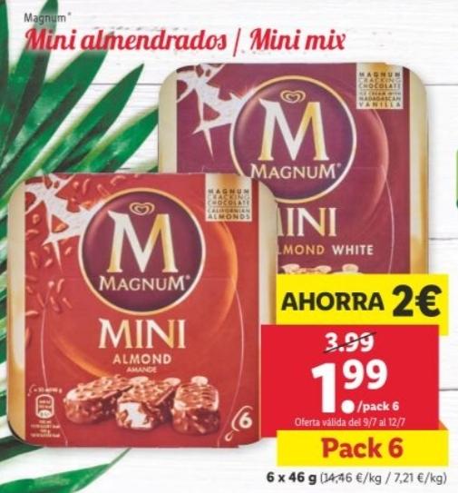 Helados Magnum Mini Lidl