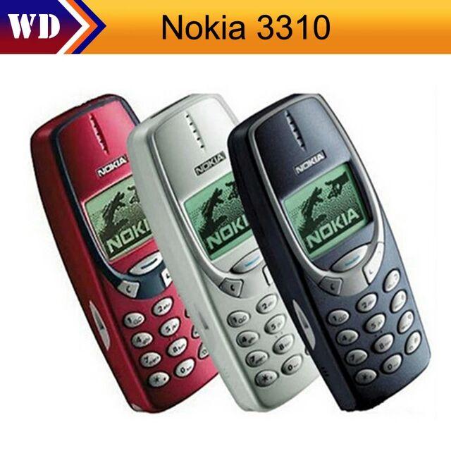 Nokia 3310 Nokia 3310 teléfono móvil GSM 900/1800 de Doble Banda Utilizado condiciones