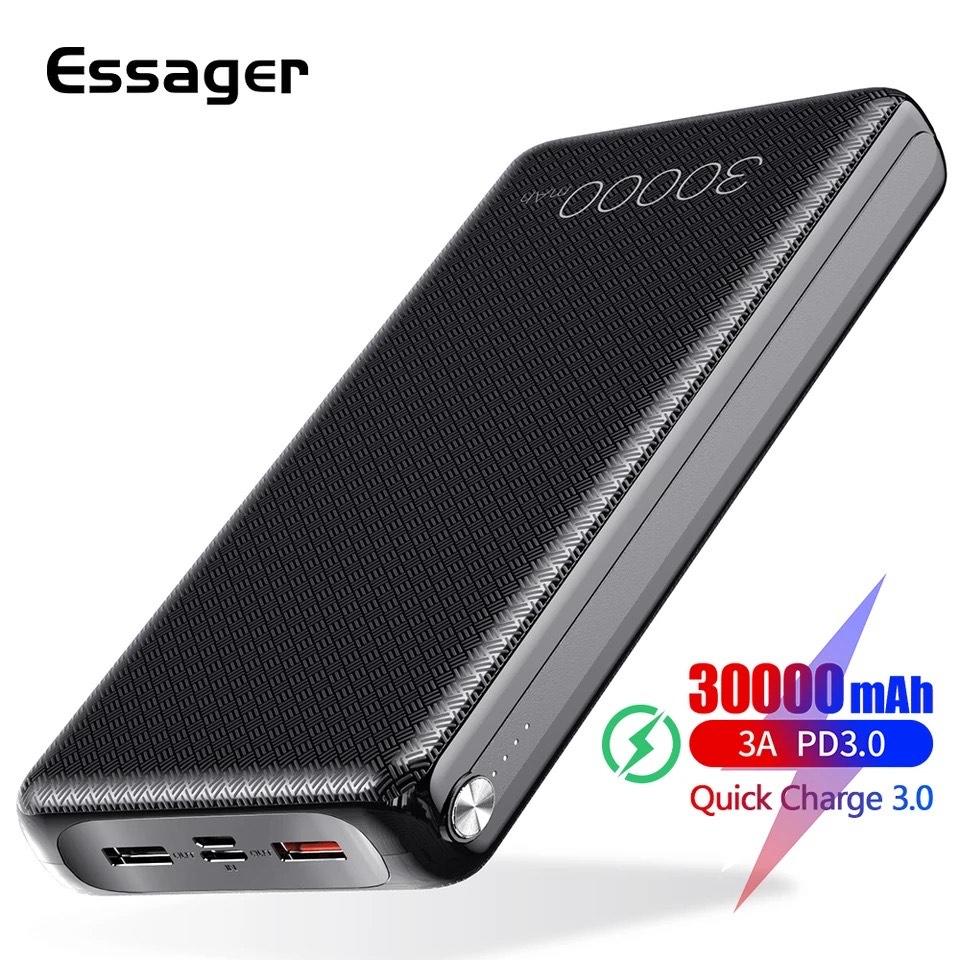 batería externa 30000mAh