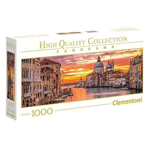Puzzle 1000 piezas canal de Venecia, clementoni