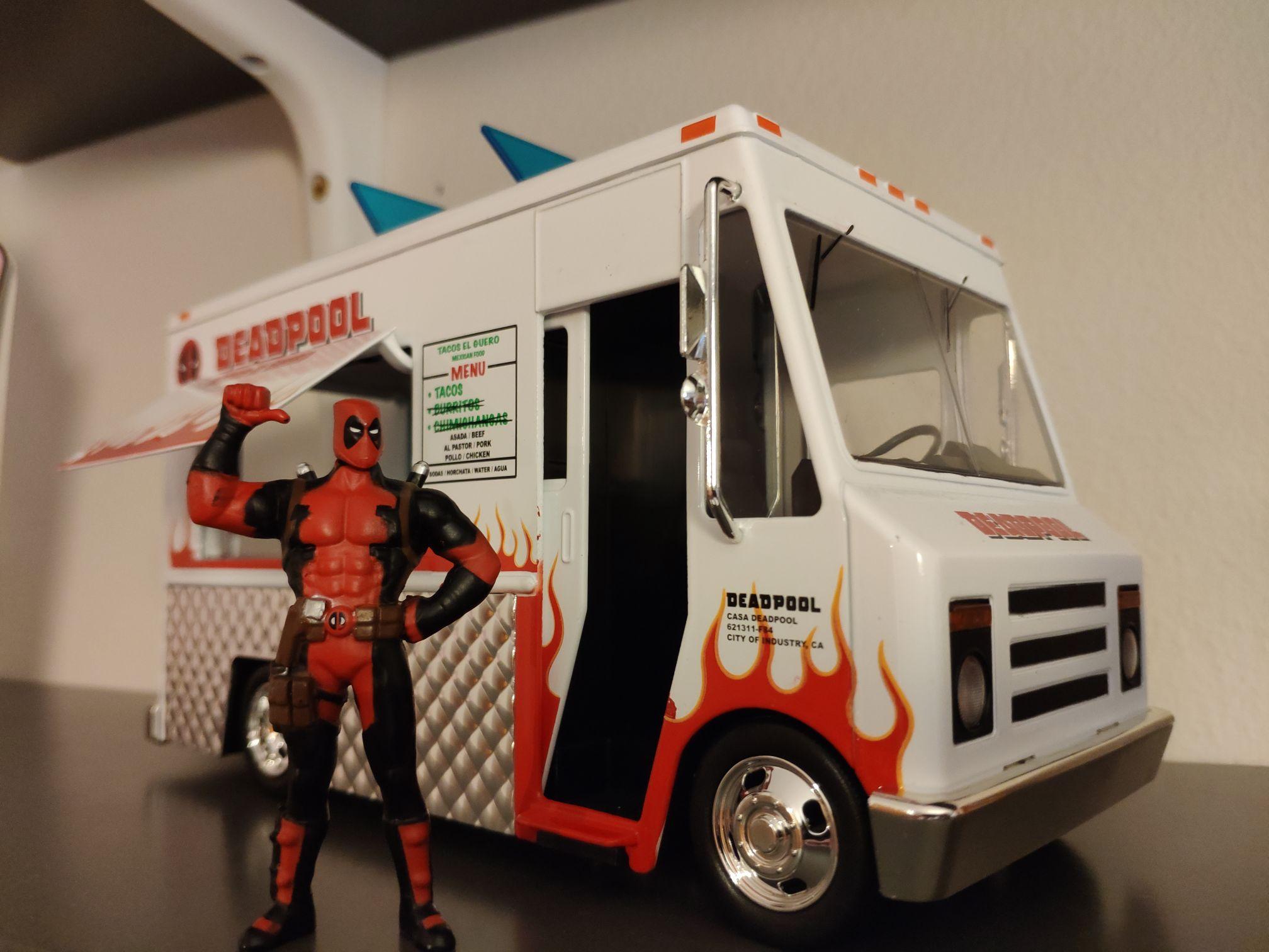 Foodtruck Deadpool