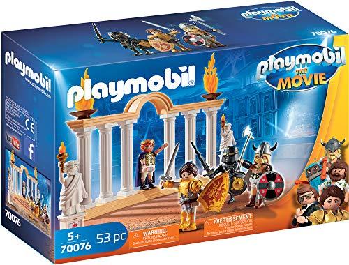 PLAYMOBIL: THE MOVIE Emperador Maximus en el Coliseo