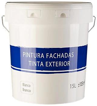 Pintura exterior blanca 9€ por 15L