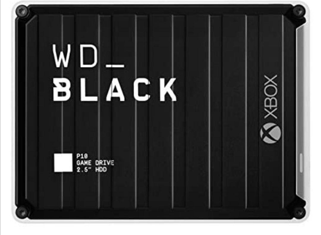 Disco Duro WD Black P10 5TB para Xbox