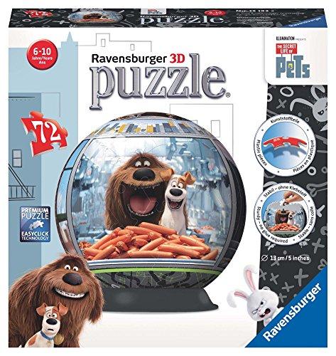 Puzzle 3d, 72 piezas + soporte