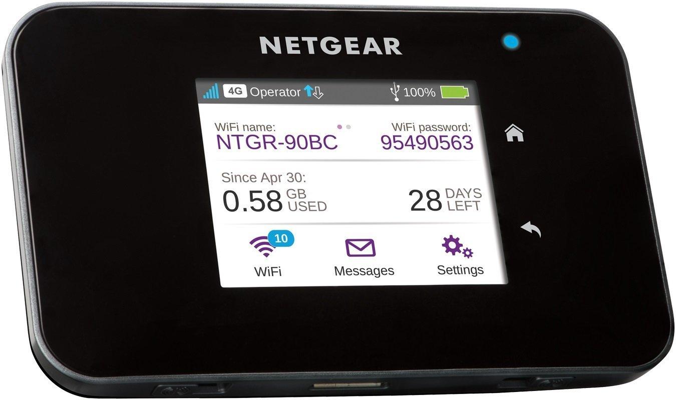 Router Netgear 4G con pantalla táctil