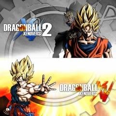 PS4: Dragon Ball Xenoverse + Xenoverse 2 + Masters Pack + Tema (DIGITAL)