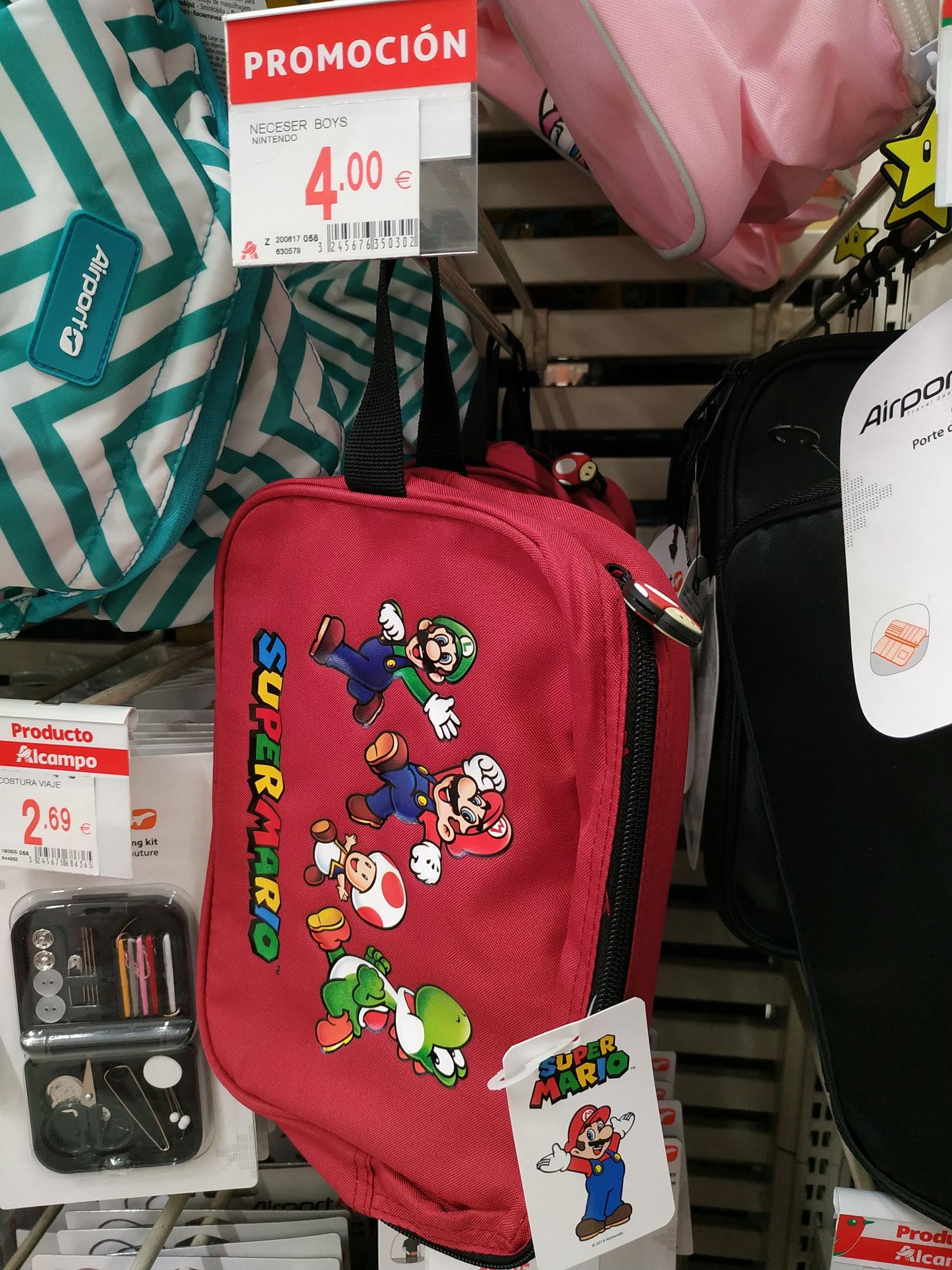 Neceser Super Mario