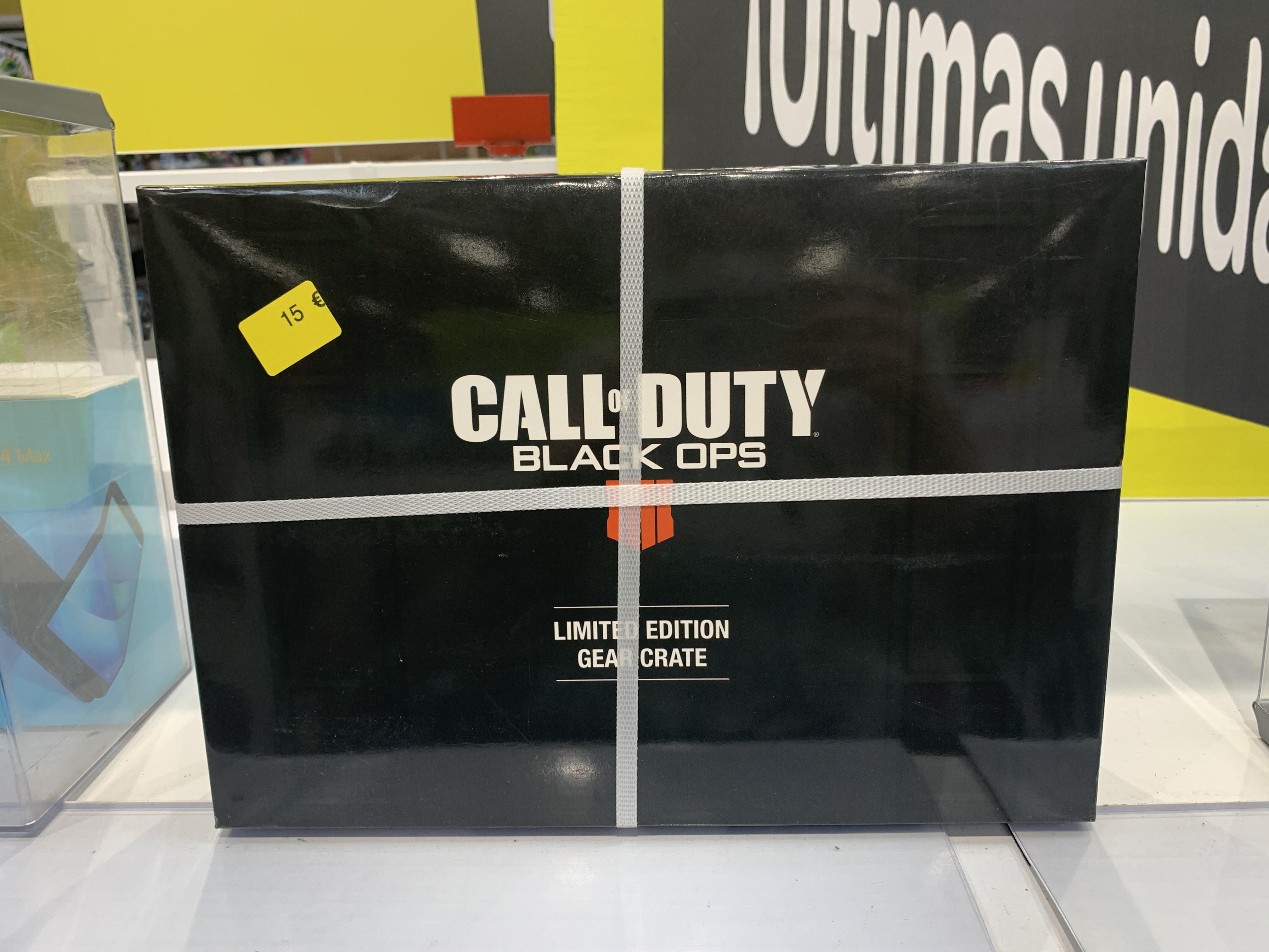 Set coleccionista COD Black Ops 4 Merchandising (Carrefour Lorca)